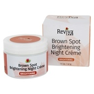 Reviva Labs - Brown Spot Skin Lightening Night Cream - 1 oz. by Reviva Labs