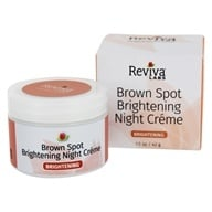 Image of Reviva Labs - Brown Spot Skin Lightening Night Cream - 1 oz.