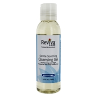 Reviva Labs - Gentle, Soothing Cleansing Gel - 4 oz. Formerly: Cleansing Gel Sensitive Skin (087992111631)