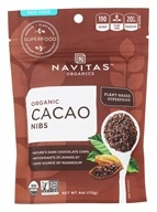 Navitas Naturals - Cacao Raw Chocolate Nibs Certified Organic - 4 oz.