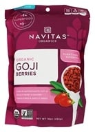 Navitas Naturals - Sun-Dried Goji Berries Certified Organic - 16 oz. by Navitas Naturals