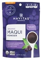 Navitas Naturals - Organic Freeze Dried Maqui Powder Patagonian Superfruit - 3 oz.