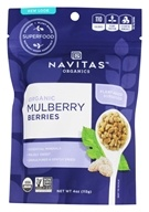 Navitas Naturals - Mulberry Power Mulberries Certified Organic - 4 oz. - $5.38