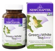 Image of New Chapter - Organics Green & White Tea Force - 60 Vegetarian Capsules