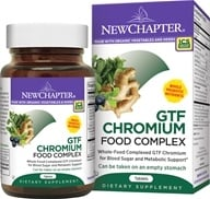 New Chapter - Organics GTF Chromium Complex - 60 Tablets - $14.15