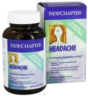 New Chapter - Headache Take Care - 30 Softgels, from category: Herbs