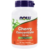 NOW Foods - Black Cherry Fruit Extract - 90 Vegetarian Capsules