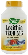 Image of Nature's Way - Lecithin 1200 mg. - 100 Softgels