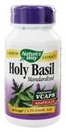 Nature's Way - Standardized Holy Basil 450 mg. - 60 Vegetarian Capsules, from category: Herbs