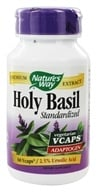 Nature's Way - Standardized Holy Basil 450 mg. - 60 Vegetarian Capsules - $10.11