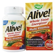 Image of Nature's Way - Alive Multi-Vitamin Whole Food Energizer - 90 Tablets