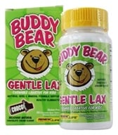 ReNew Life - Buddy Bear Gentle Laxative for Children Chocolate - 60 Chewable Tablets by ReNew Life