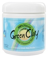 Rainbow Research - French Green Clay Facial Mask Powder - 8 oz.