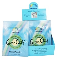 Rainbow Research - French Green Clay Mask Powder - 0.75 oz.