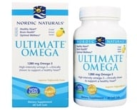 Nordic Naturals - Ultimate Omega Purified Fish Oil Lemon 1000 mg. - 60 Softgels, from category: Nutritional Supplements