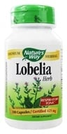Nature's Way - Lobelia Herb 425 mg. - 100 Capsules - $4.88