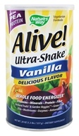 Nature's Way - Alive Pea Protein Ultra-Shake Vanilla - 1.3 lbs. by Nature's Way