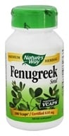 Image of Nature's Way - Fenugreek Seed 620 mg. - 100 Vegetarian Capsules