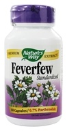 Nature's Way - Feverfew Standardized Extract - 60 Capsules by Nature's Way