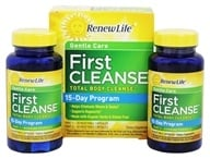 ReNew Life - First Cleanse Total Body Internal Cleanse Kit 2-Week Program - 60 Capsules, from category: Detoxification & Cleansing