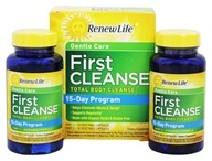 ReNew Life - First Cleanse Total Body Internal Cleanse Kit 2-Week Program - 60 Capsules (631257535238)