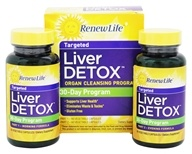 ReNew Life - Liver Detox Kit 30-Day Program - 120 Capsules - $33.99