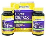 Image of ReNew Life - Liver Detox Kit 30-Day Program - 120 Capsules
