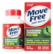 Image of Schiff - Move Free Advanced plus MSM 1500 mg. - 60 Tablets