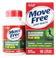 Schiff - Move Free Advanced plus MSM 1500 mg. - 60 Tablets by Schiff