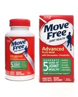 Image of Schiff - Move Free Advanced plus MSM 1500 mg. - 120 Tablets