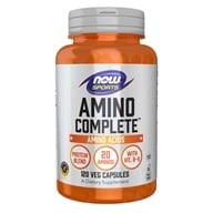 Image of NOW Foods - Amino Complete - 120 Capsules