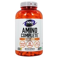 NOW Foods - Amino Complete - Balanced Blend of Amino Acids - 360 Capsules