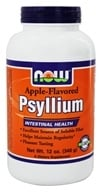 NOW Foods - Apple Psyllium Fiber - 12 oz.