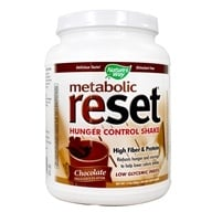 Nature's Way - Metabolic Reset Hunger Control Weight Loss Shake Chocolate - 630 Grams, from category: Diet & Weight Loss