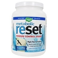 Nature's Way - Metabolic Reset Hunger Control Weight Loss Shake Vanilla - 630 Grams - $23.98
