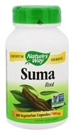 Image of Nature's Way - Suma (Brazilian Ginseng) 500 mg. - 100 Capsules