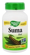 Nature's Way - Suma (Brazilian Ginseng) 500 mg. - 100 Capsules (033674174005)