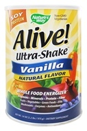 Nature's Way - Alive Soy Protein Ultra-Shake Vanilla - 2.2 lbs. by Nature's Way