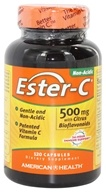Image of American Health - Ester-C with Citrus Bioflavonoids 500 mg. - 120 Capsules