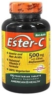 American Health - Ester-C with Citrus Bioflavonoids 500 mg. - 225 Vegetarian Tablets (076630169745)