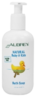 Image of Aubrey Organics - Natural Baby & Kids Bath Soap - 8 oz.