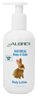 Aubrey Organics - Natural Baby & Kids Body Lotion - 8 oz.