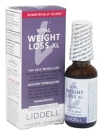 Image of Liddell Laboratories - Vital Weight Loss XL Homeopathic Oral Spray - 1 oz.