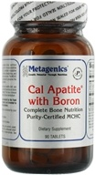 Metagenics - Cal Apatite with Boron - 90 Tablets - $19.75