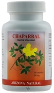 Arizona Natural - Chaparral 500 mg. - 90 Capsules