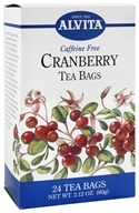 Alvita - Cranberry Caffeine Free - 24 Tea Bags, from category: Teas