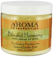 Abra Therapeutics - Aroma Therapeutics Natural Bubble Bath Blissful Harmony Patchouly and Frankincense - 14 oz.