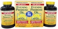 American Health - Royal Brittany Evening Primrose Oil Super Potency (120 + 120) Twin Pack Special 1300 mg. - 240 Softgels, from category: Nutritional Supplements