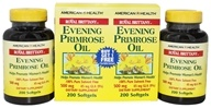 American Health - Royal Brittany Evening Primrose Oil (200+200) Twin Pack Special 500 mg. - 400 Softgels by American Health