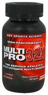 AST Sports Science - MultiPro 32X - 100 Caplets - $19.45